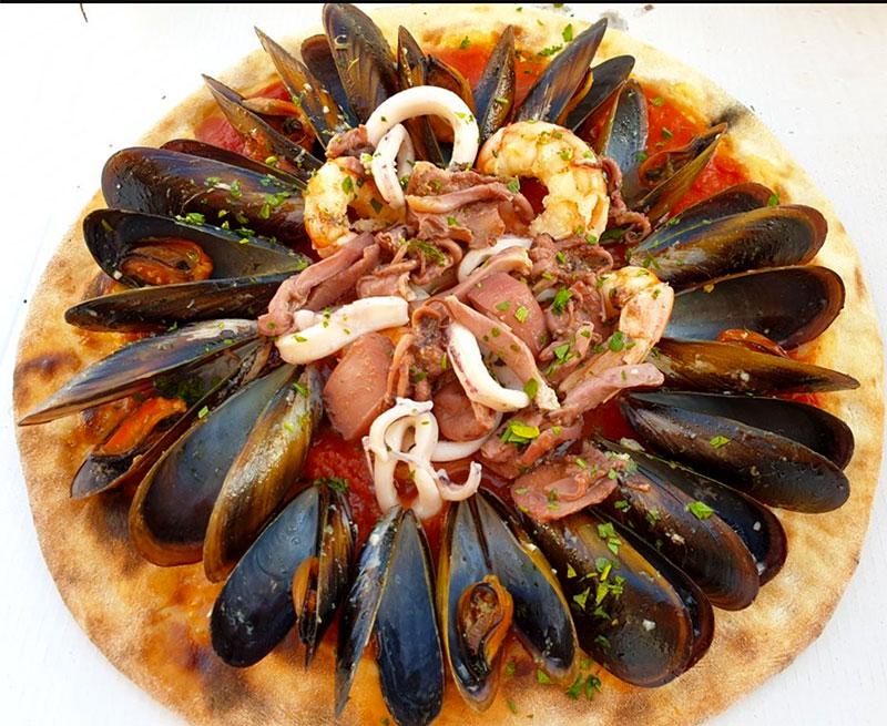 Pizza Son Bou Menorca